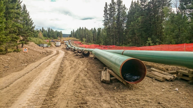 Land surveying in Prince George and surrounding area - Pipeline surveying